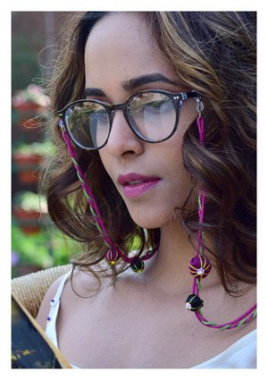 Textile Eye Wear Chains