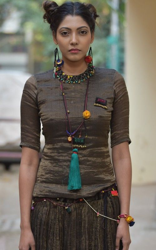 makutu textile jewelry