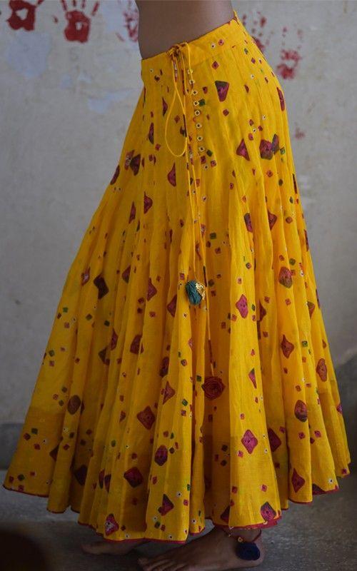 skirts ghaghras