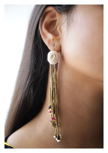 Yati Textile Earrings