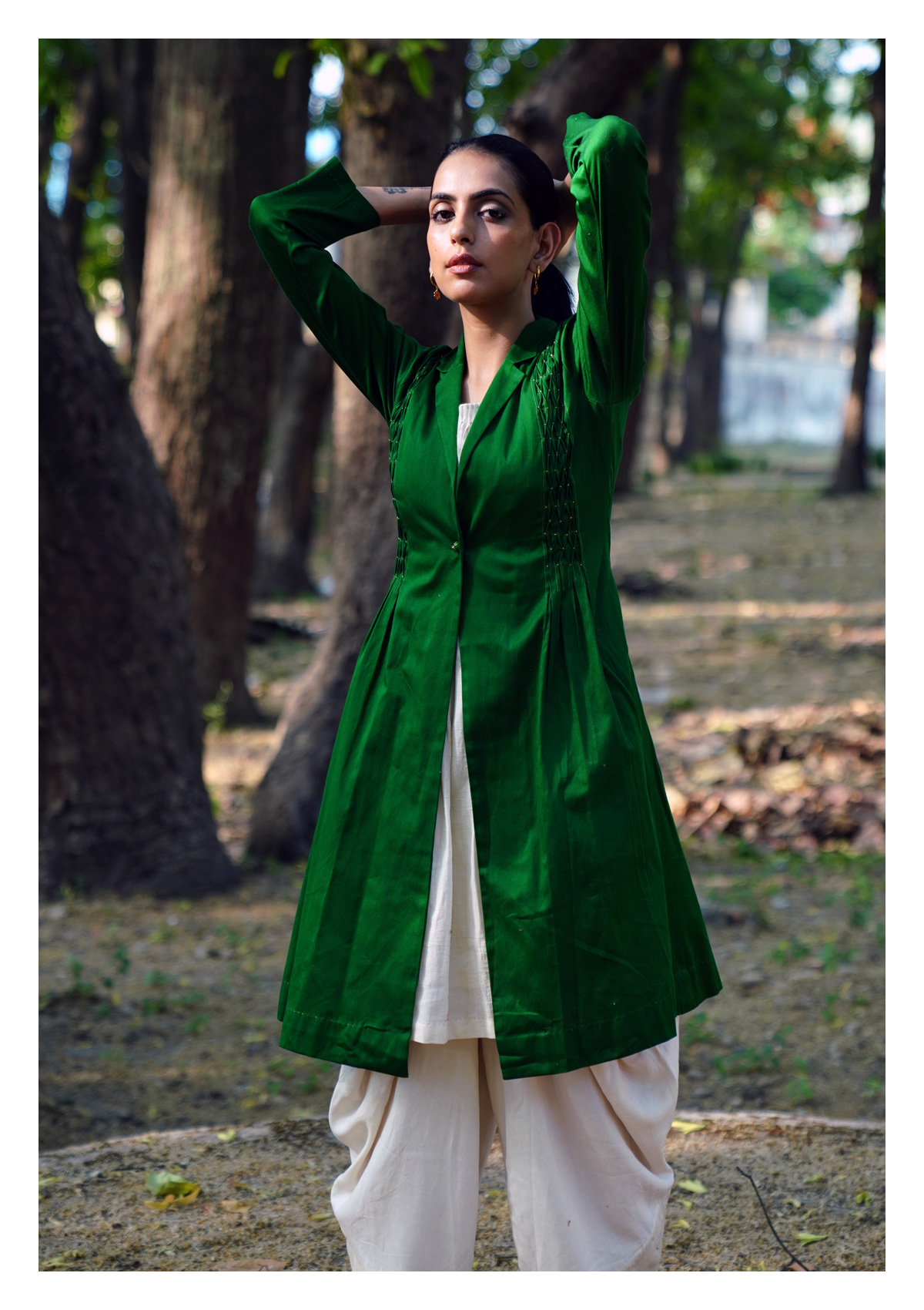 Burgeon Green Jacket
