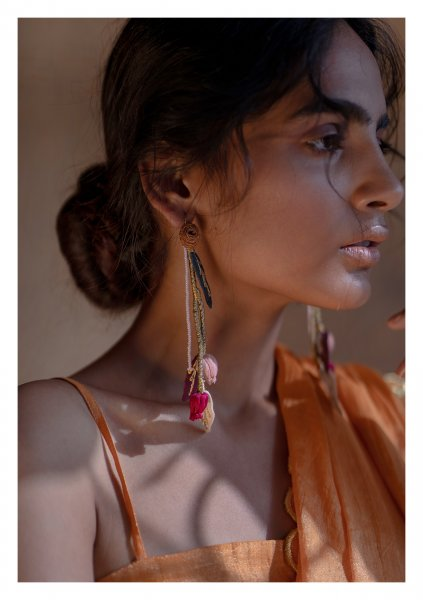 Bael Textile Earrings