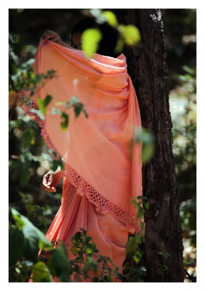 Whistling Woods Chanderi Saree