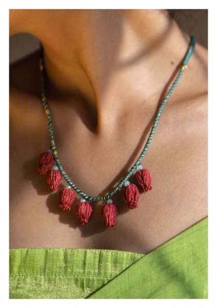 Carica Textile Necklace