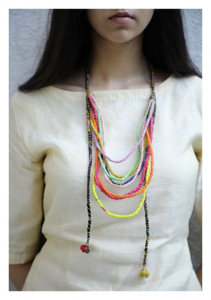 Shyla Textile Necklace