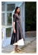 Lilou Black Cotton Dress
