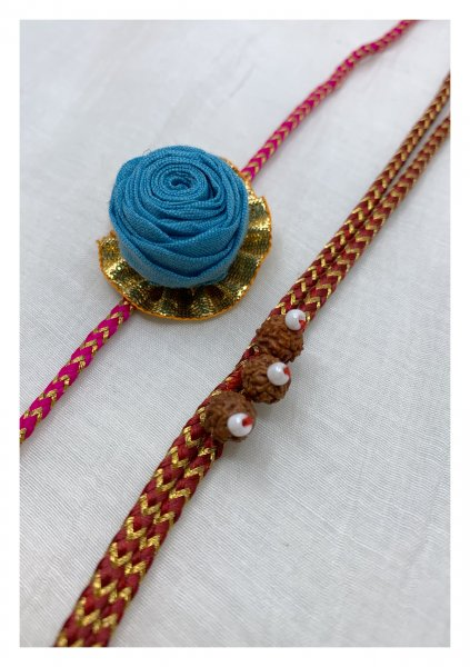 Vidur Handmade Rakhi Set of 2