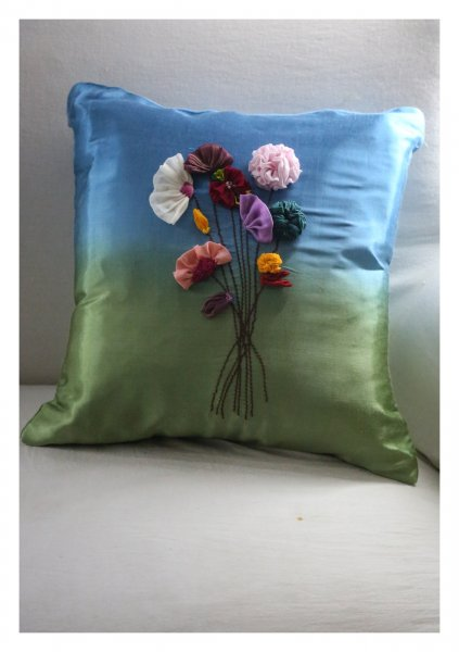Revya Silk Cushion