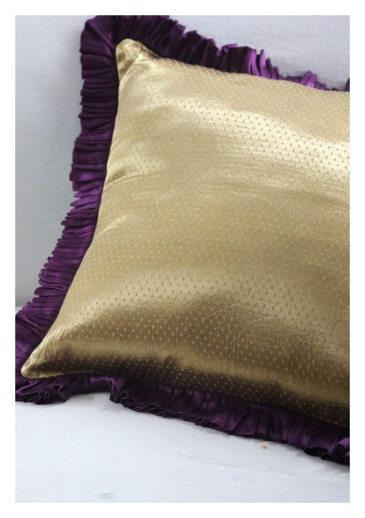 Wisa Mashru Silk Cushion Cover