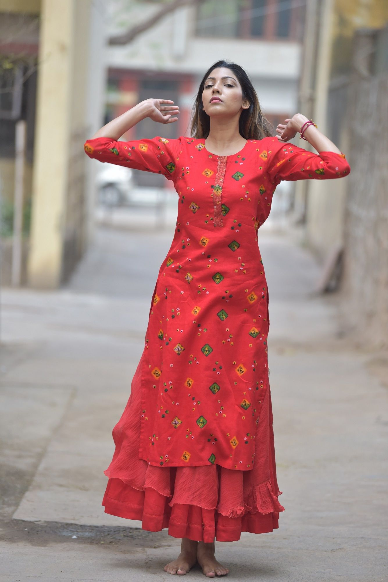 CHEENTA HANDMADE COTTON KURTA