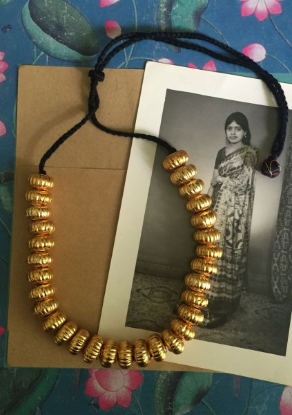 Chhoti Hoi Handmade Gold Tone Silver Necklace