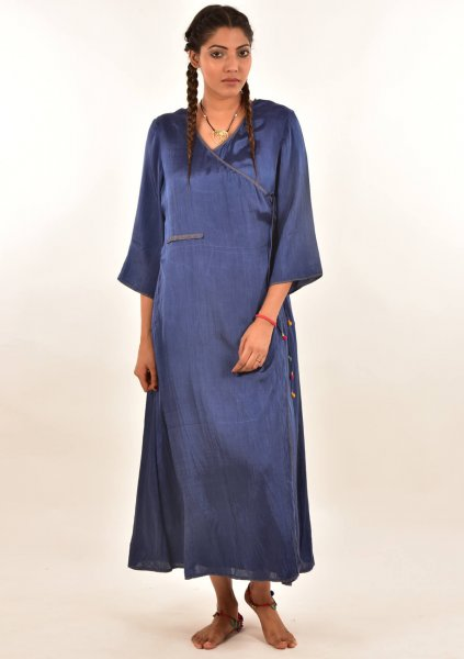 Dasti Mashro Wrap Dress