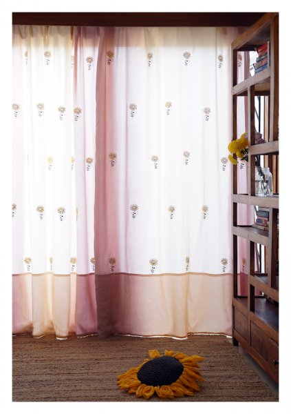 Pacino Ombre Cotton Curtain