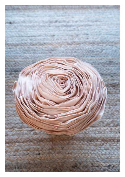Terrazza Nude Rose Cushion