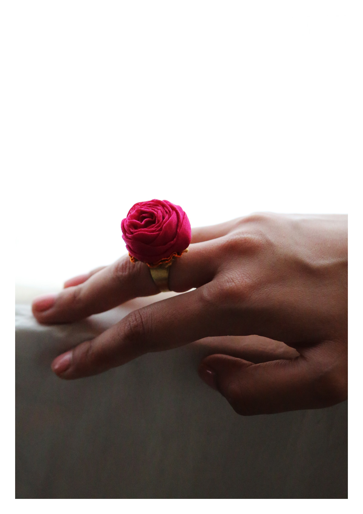 Chike Pink Rose Ring