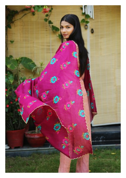 Kamakya Cotton Chint Dupatta
