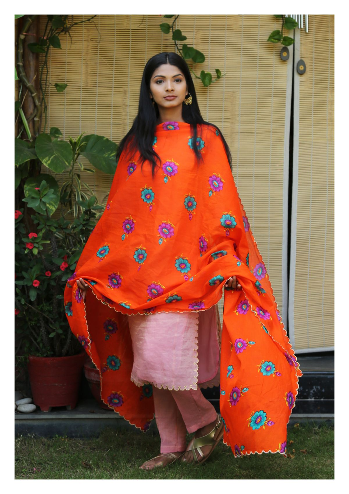 Toshani Cotton Chintz Dupatta