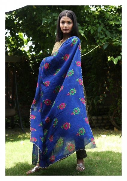 Sarbani Cotton Chintz Dupatta