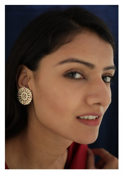 Baha Handmade Silver Earrings