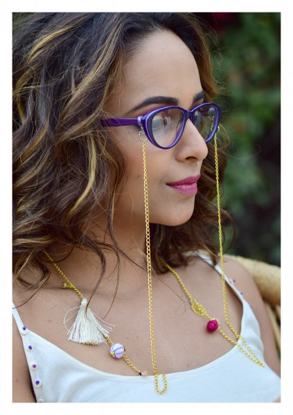 Goldie Handmade Eye Wear Chain