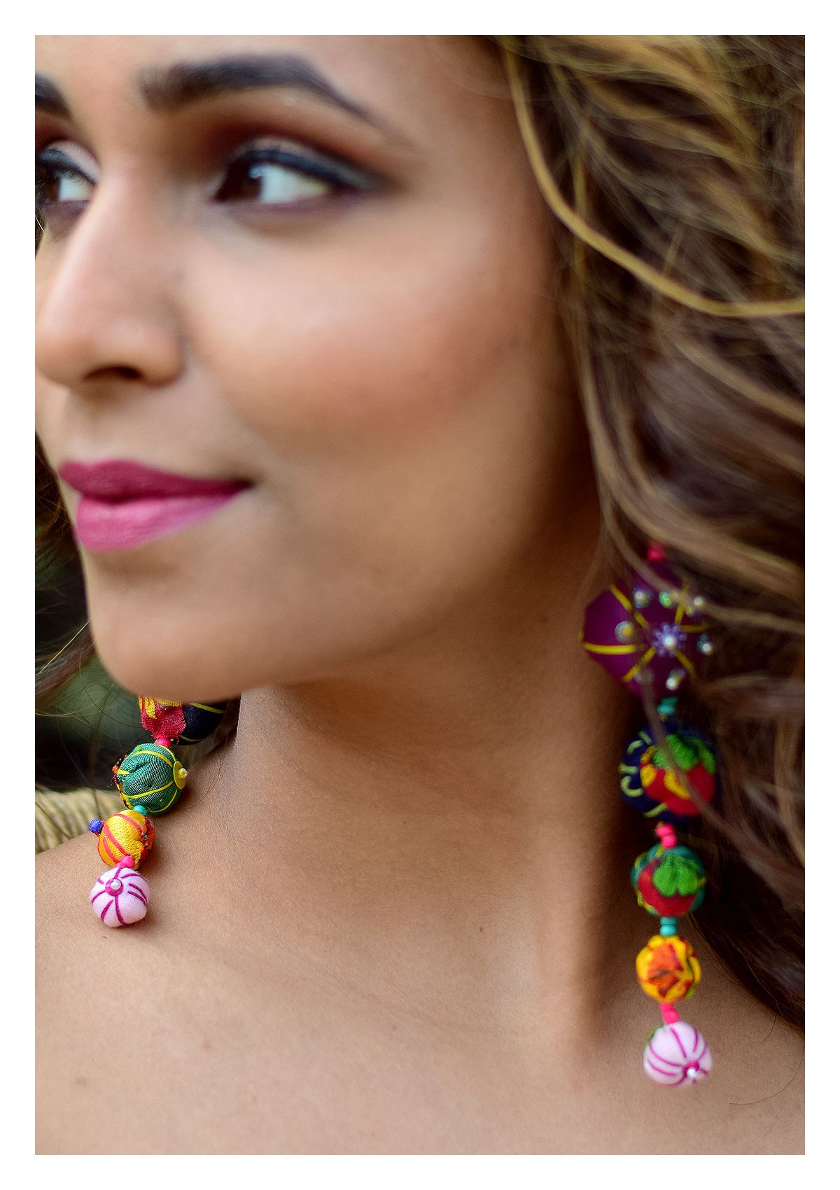 Emory Handmade Textile Earrings