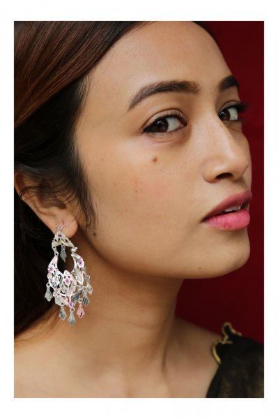 Raniya Handmade Silver Earrings