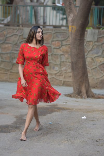LAALI HANDMADE COTTON DRESS