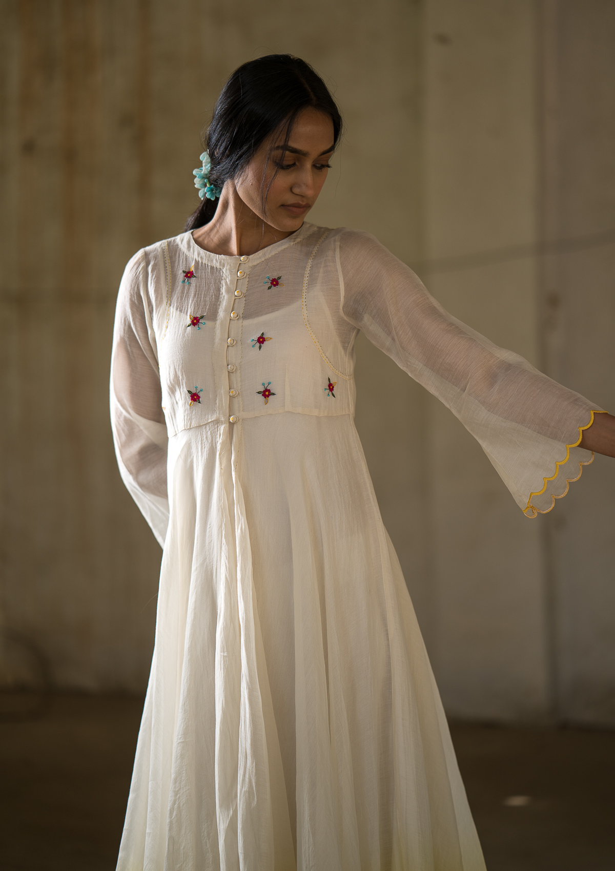 Mann Malchati Chanderi Dress