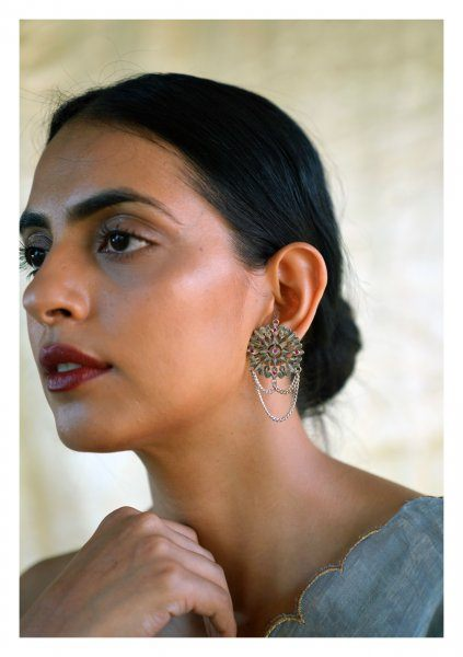 Dola Handmade Silver Earrings