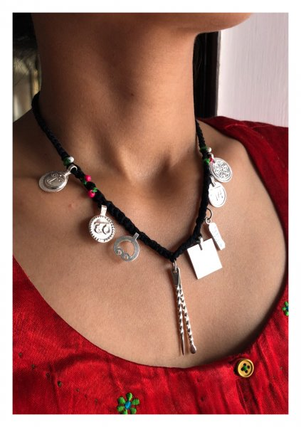 Nazarband Handmade Silver Necklace