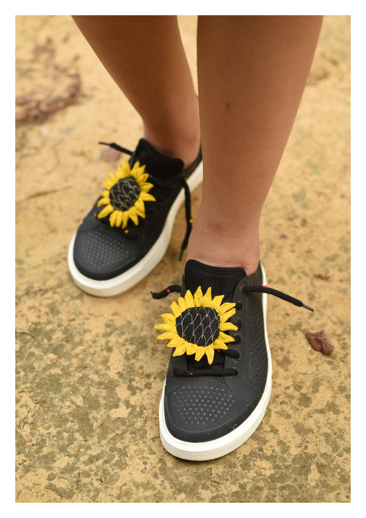Sunflower Handmade Shoelaces