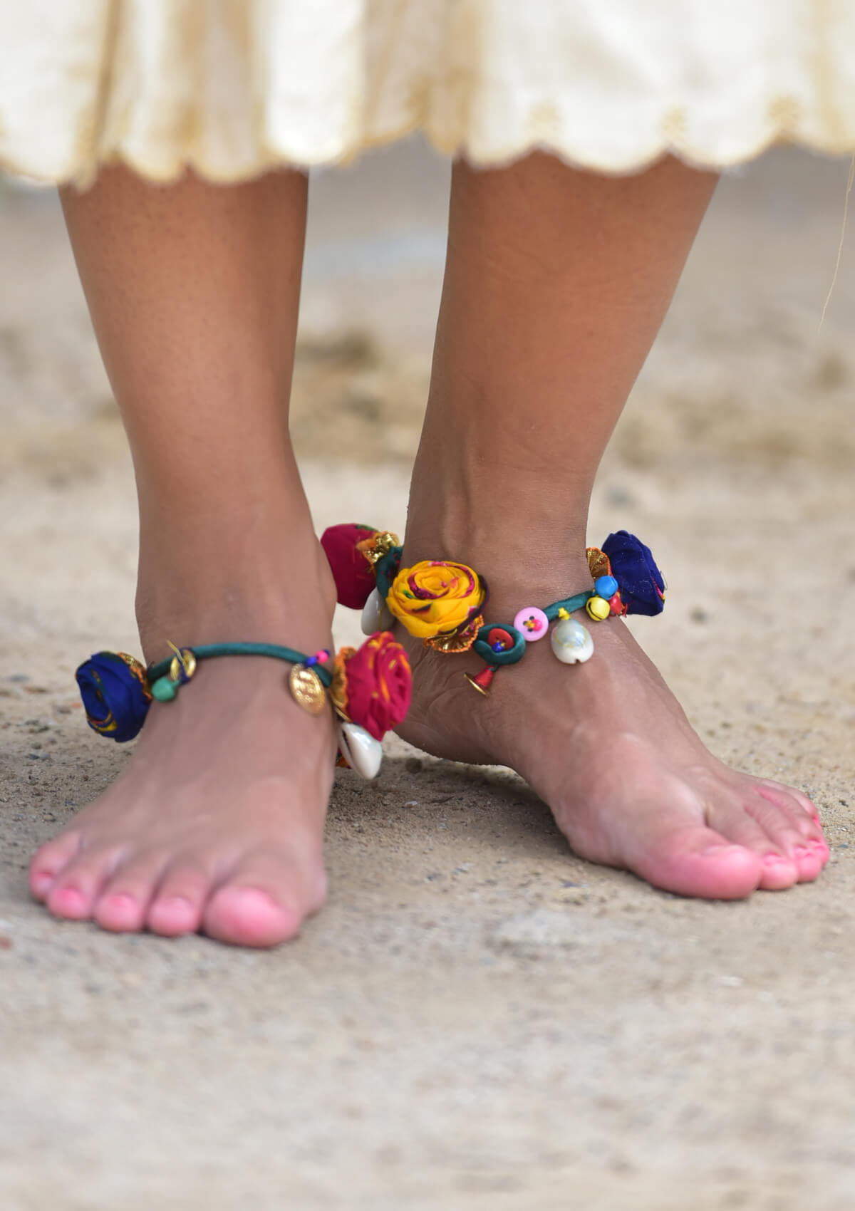 photo mantra beach collections anklet boho my shell gypsy summer silver shop