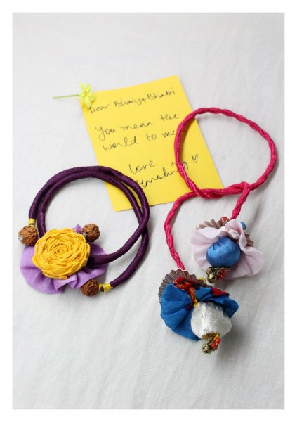 Togetherness Rakhi-Lumba Set