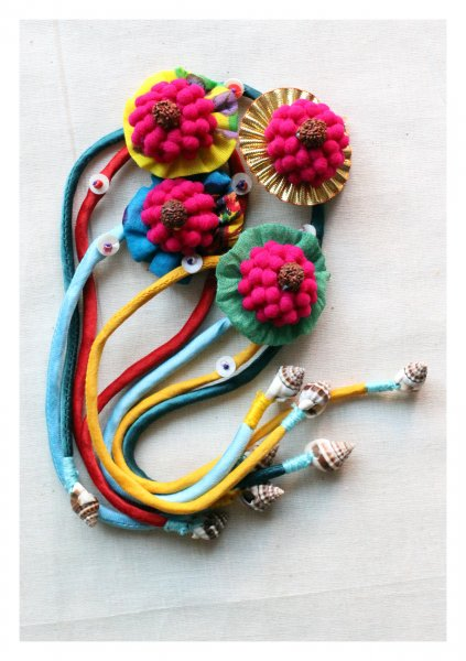 Joy Handmade Rakhi Set of 4
