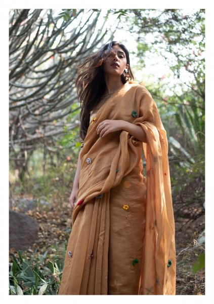 Desert Love Chanderi Saree