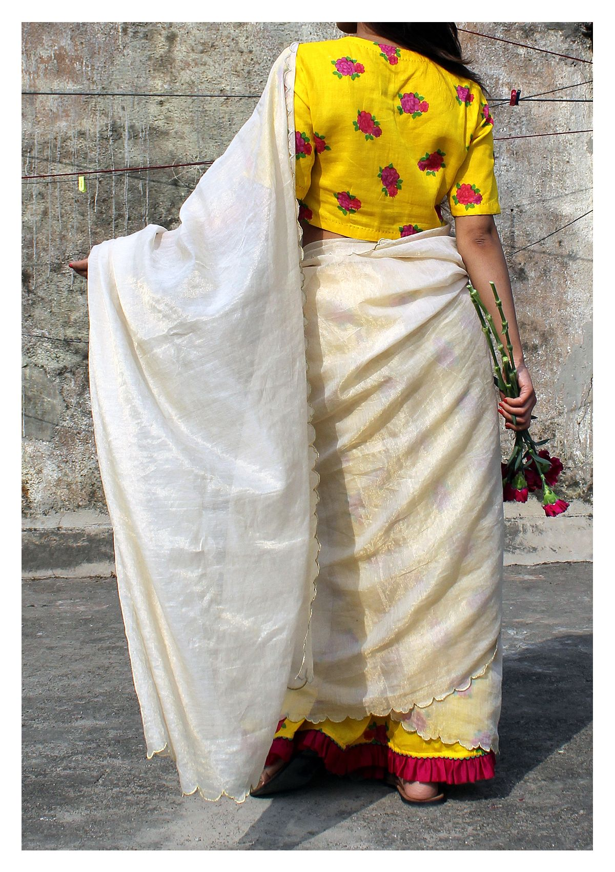 Saraswati Tissue Saree