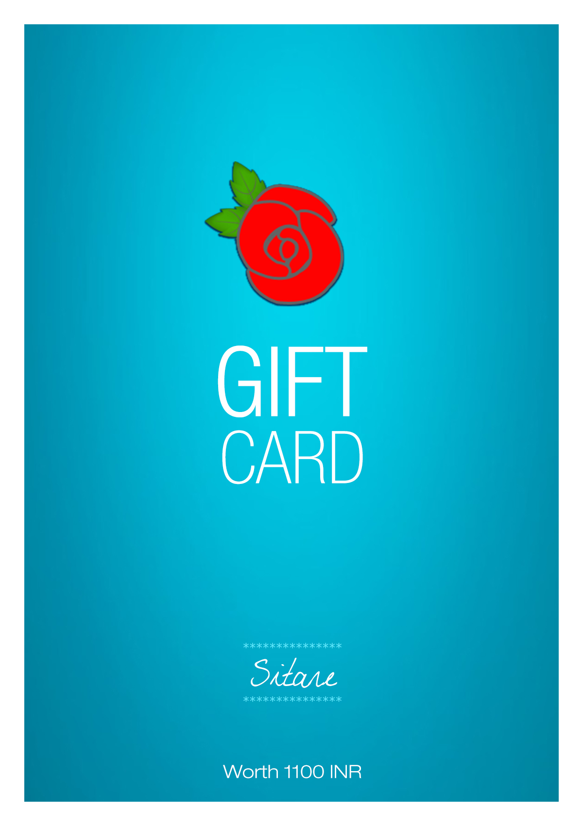 Sitare Gift Card