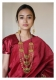 Bano Handmade Gold Tone Necklace and Earrings Set