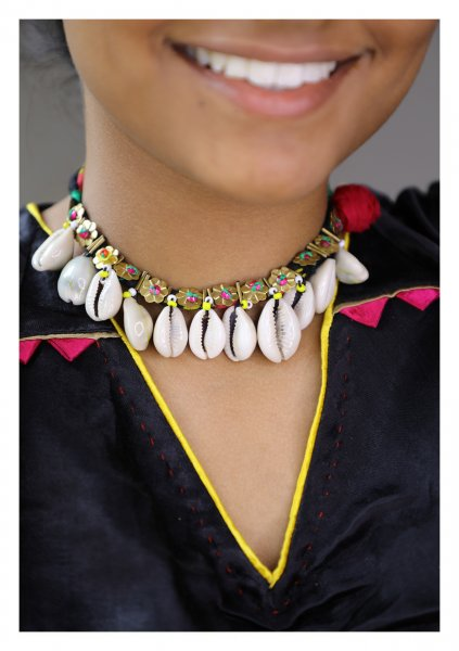 Gauri Handmade Shell Necklace