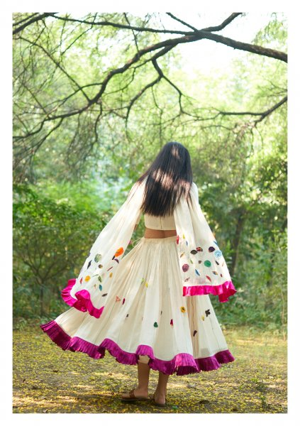 Promised Land Ghagra, Blouse, Dupatta set